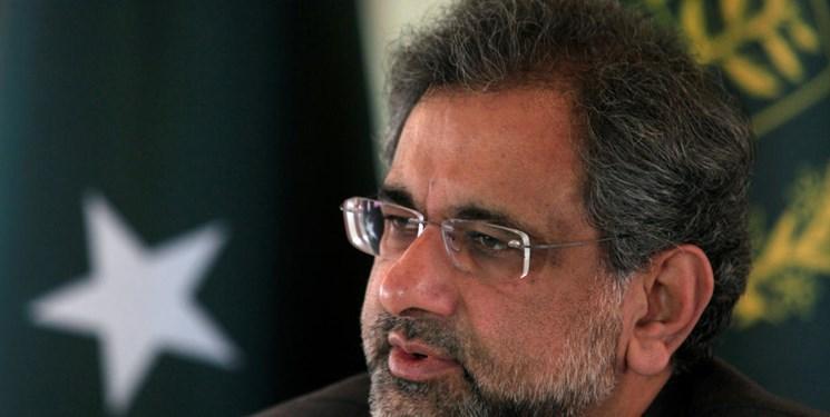 شاهد خاقان عباسی نخست وزیر سابق پاکستان بازداشت شد