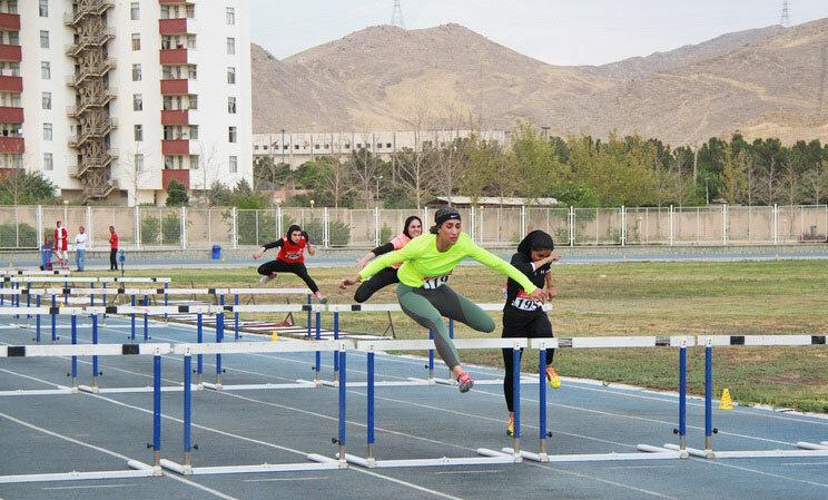 گلستان عنوان قهرمانی دو و میدانی بانوان کشور را به دست آورد