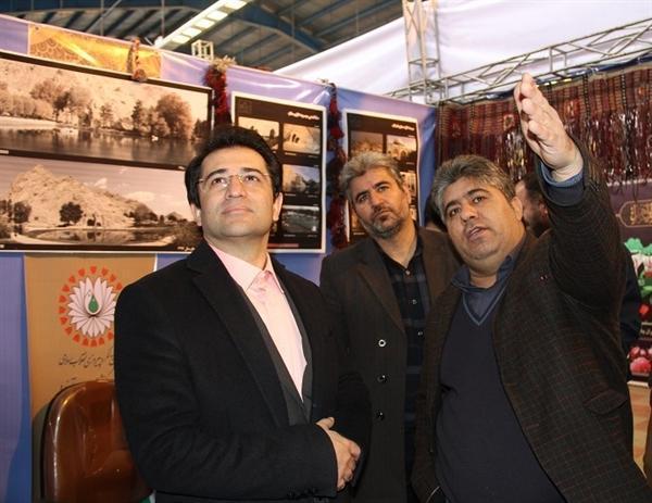 افتتاح نمایشگاه دستاوردهای 40ساله میراث فرهنگی کرمانشاه