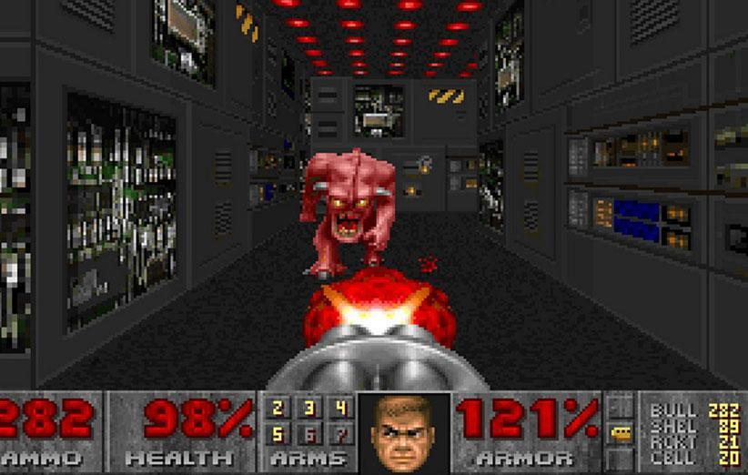 Doom کلاسیک آپدیت و الزامات آنلاین بتسدا از آن حذف شد
