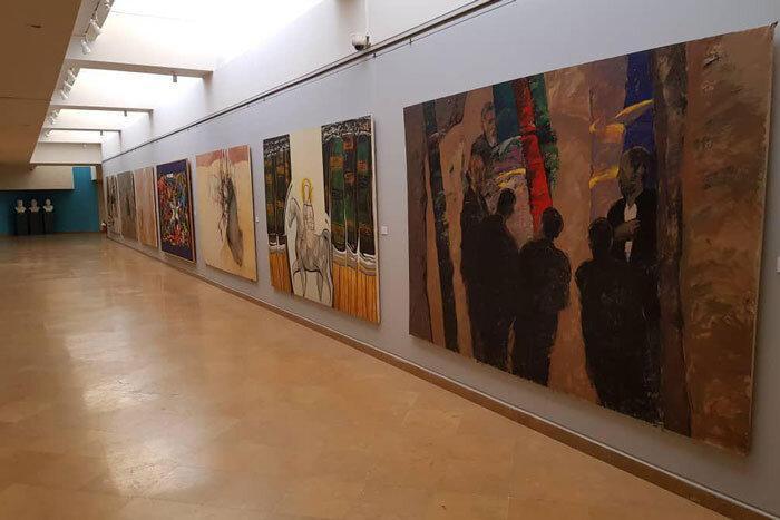 تابلوهای عاشورایی در موزه امام علی(ع)